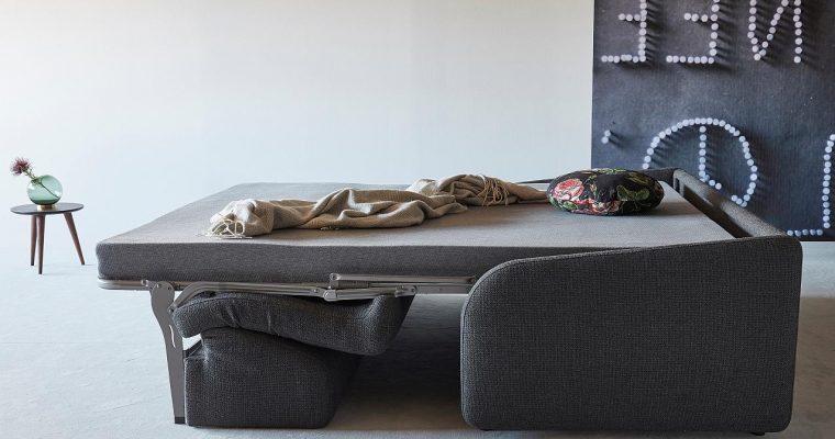 Innovation Slaapbank Eivor 140 – Stof Kenya Dark Grey 577 | 8720195951605