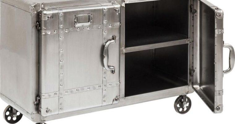 Kare Design Kastje Buster – 2-deurs – Metaal – 81 X 60 X 37 Cm | 4025621828310