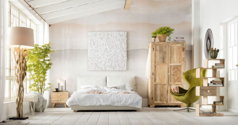 Kare Design Kledingkast Puro – Mangohout – 190 X 100 X 58 Cm | 4025621819875
