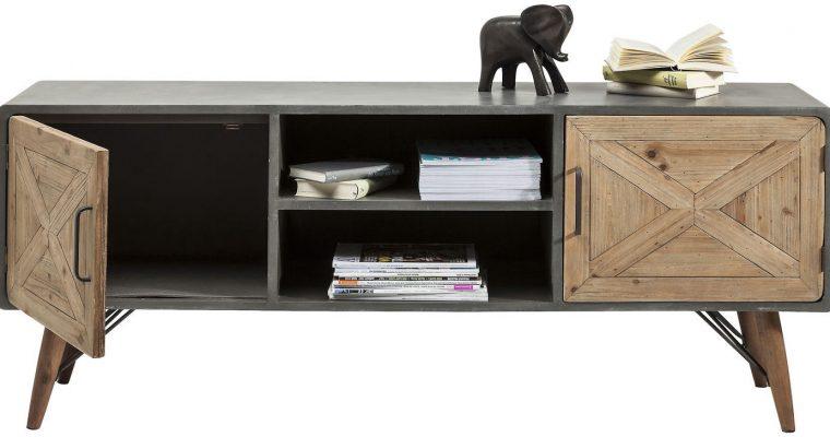 Kare Design TV Meubel X Factory 2 Deurs – L160 X B40 X H56 Cm   4025621803287