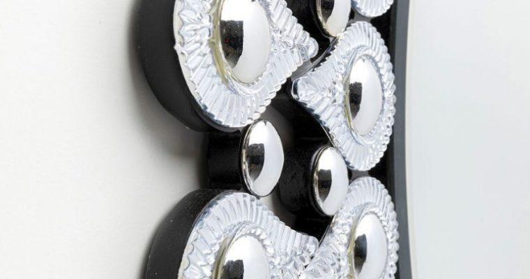Kare Design Tear Drops Spiegel – Rond -Ø90xD2 Cm – Zilver |