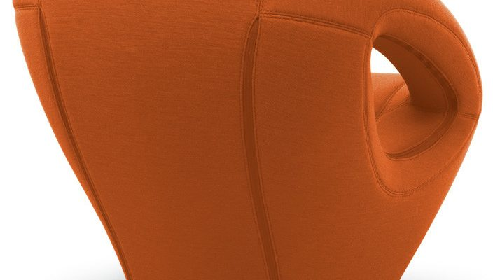 Lonc Loungestoel Seaser – Soft – Oranje  