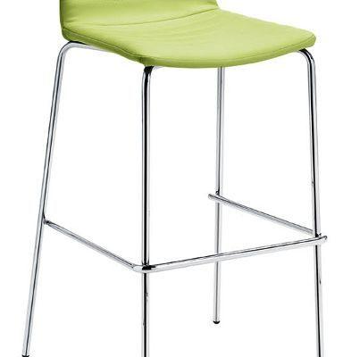 MIDJ Set 2 Barkrukken Cover H65 – Kunstleer – Lime Groen |