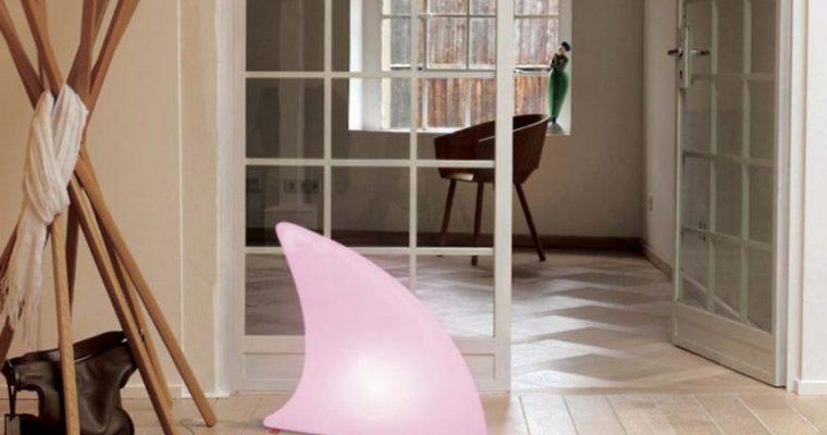 Moree Shark Indoor LED Tafel-Vloerlamp 70x19x65 Cm – Wit   4260218360822