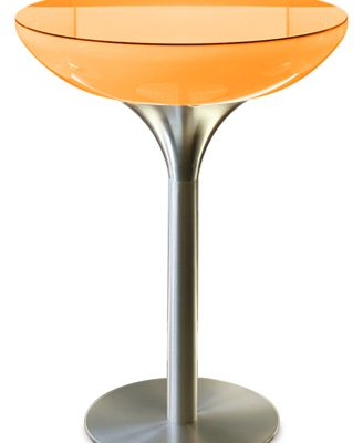 Moree – Statafel – Bartafel Lounge – Hoogte 105 Cm LED Pro Accu – Wit   4260218360594