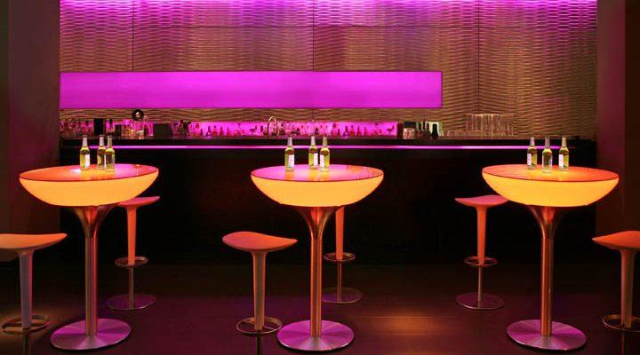Moree – Statafel – Bartafel Lounge – Hoogte 105 Cm Outdoor – Wit   4260218360563