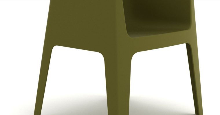 Pedrali Plus 630 Tuinstoel Set Van 2 – Kunststof – Groen   8718692420830