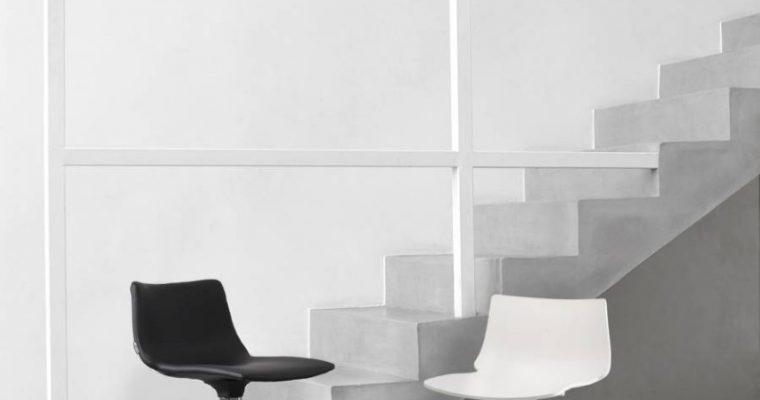 SCAB Barkruk Daylight Pop H65 – Zwart Kunstleer – Chroom | 8005733237220