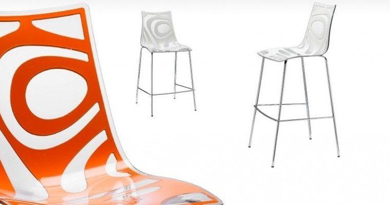 SCAB Design Barkruk Wave 65 – Doorschijnend Ivoor | 8005733254111