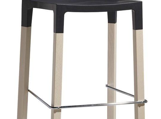 SCAB Design Set 2 Barkrukken Divo Natural 75 – Antraciet | 8005733281827