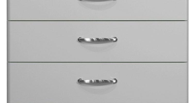Tenzo Ladekast Malibu 5-Laden – B86 X D41 X H111 – Aluminium   7394084058785