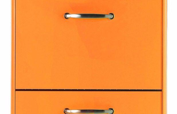Tenzo Schoenenkast Malibu 3-Deurs – B58 X D24 X H121 – Oranje | 7394084052479