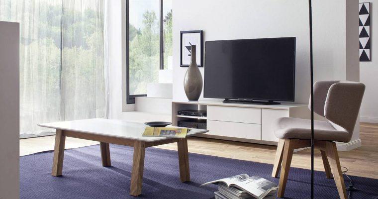 Tenzo TV Meubel Profil – 150x47x44 – Mat Wit   8720195955399