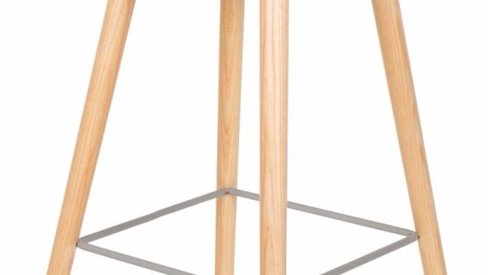 Zuiver Set 2 Barkrukken Albert Kuip Zithoogte 75 Cm – Oud Roze | 8718548036475