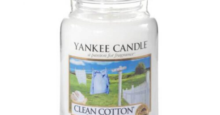 Yankee Candle Clean Cotton Large Jar   1010728E   Yankee Candle