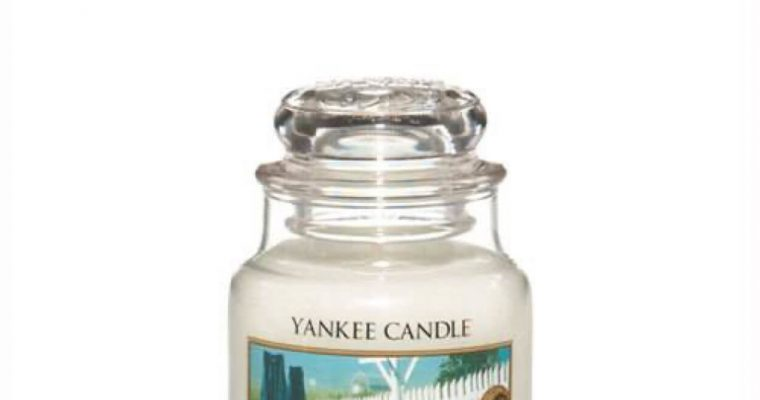 Yankee Candle Clean Cotton Small Jar | 1010727E | Yankee Candle