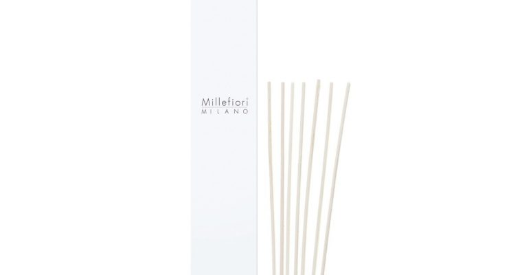 Millefiori Milano Geurstokjes blank 24cm set van 7   1ST100   Millefiori Milano