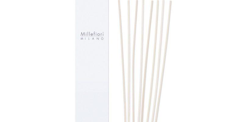 Millefiori Milano Geurstokjes blank 30cm set van 7   1ST250   Millefiori Milano