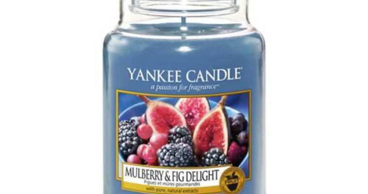 Yankee Candle Mulberry & Fig Delight Large Jar   1556245E   Yankee Candle