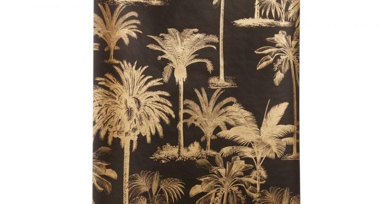 Behang Manouk Zwart