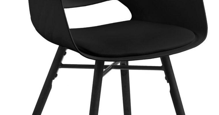 Bendt Eetkamerstoel 'Hilda', kleur zwart / zwart | 5705994973419