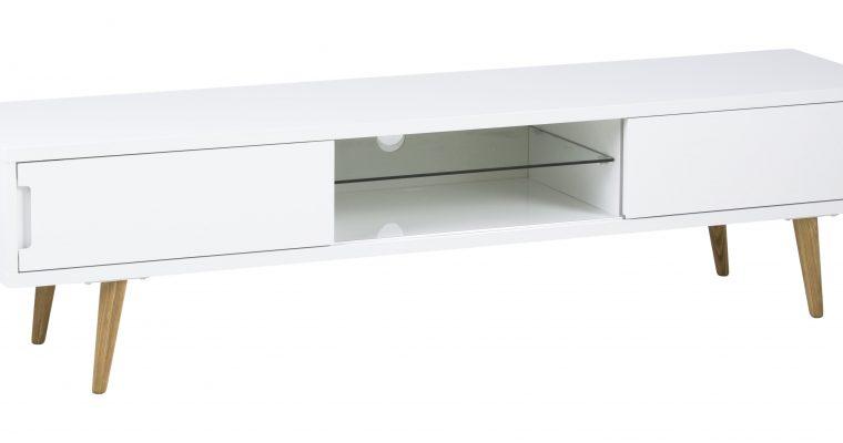Bendt Tv-meubel 'Elina' 180cm, kleur wit   5705994888355