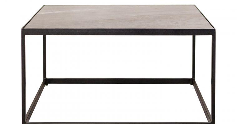 Eleonora Salontafel 'Marble' Zwart marmer, 70 x 70cm   8719087022042