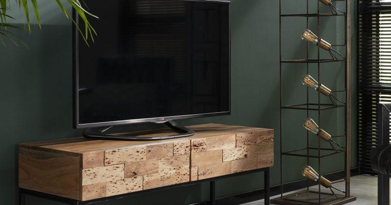 Industrieel TV-meubel 'Mill' 120cm   8713244021442