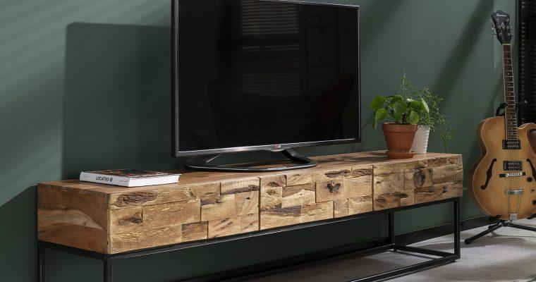 Industrieel TV-meubel 'Mill' 180cm   8713244021459