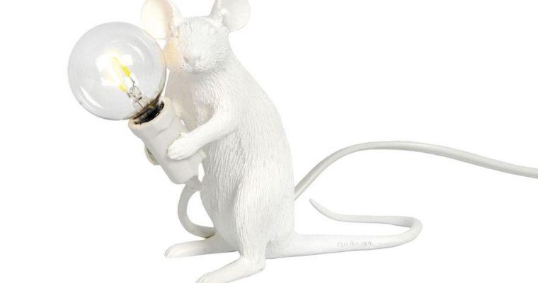 Lamp Seletti Mouse lamp sitting