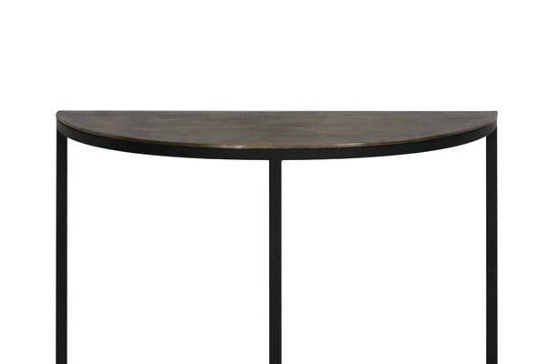 Light & Living Sidetable 'Peto', ruw antiek brons-zwart | 8717807193270