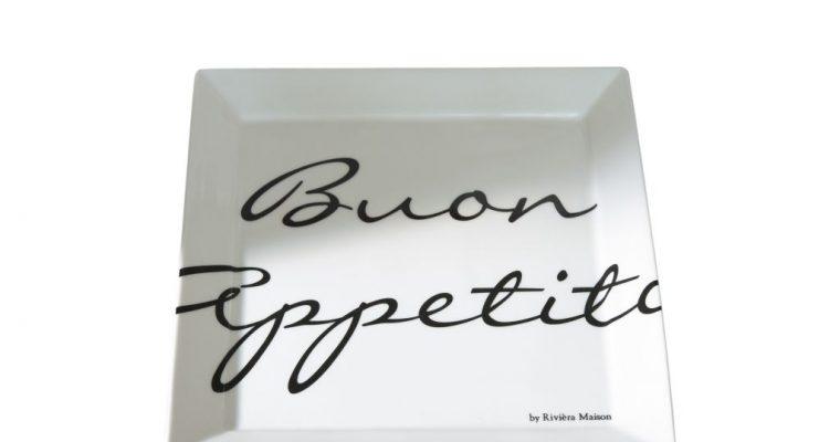 riviera maison Bord Buon Appetito Square