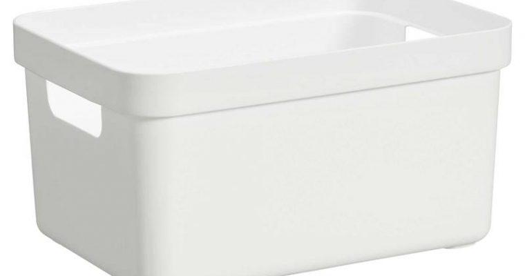 Opbergbox Sigma Wit 5 Liter