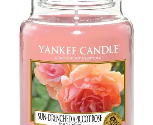 Yankee Candle Sun-Drenched Apricot rose Large Jar | 1577126E | Yankee Candle