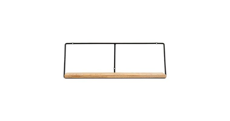 House Doctor Wandplank Wired naturel 70cm   203800412   House Doctor