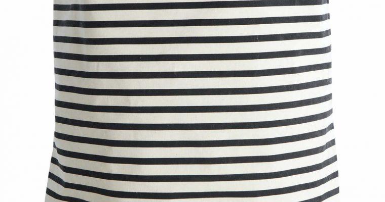 House Doctor Waszak stripes zwart   205720120   House Doctor