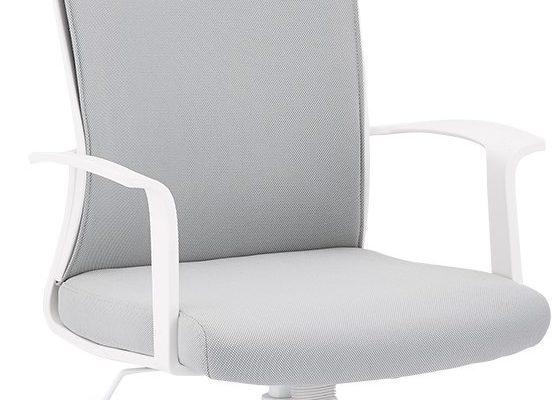 24Designs Bolero Bureaustoel – Stof – Kunststof – Wit | 8720195957164