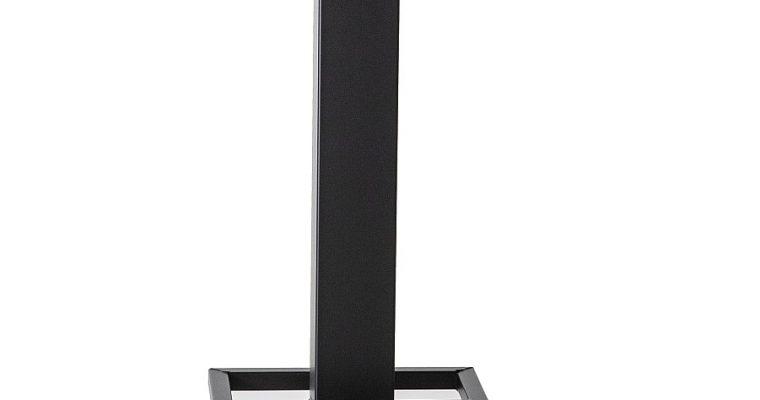 24Designs Luke Countertafel – 80x80x94 – Tafelblad Eikenhout – Zwart Metalen Onderstel  