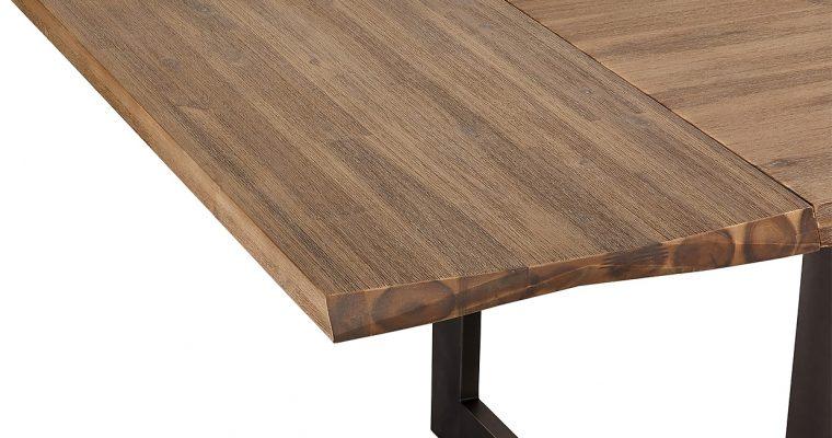 24Designs Mallorca Eettafel Verlengstuk – L50 X B90 Cm – Massief Acaciahout   8720195956501