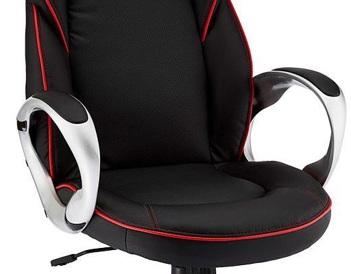 24Designs Speedy 1 Gamestoel Bureaustoel – Kunstleer – Zwart/rood | 8720195957263