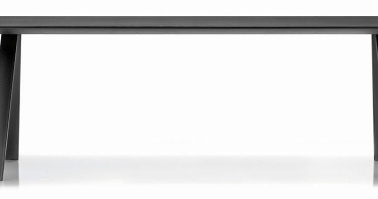 6mm Zwart Fenix Tafelblad 360×120 Cm |