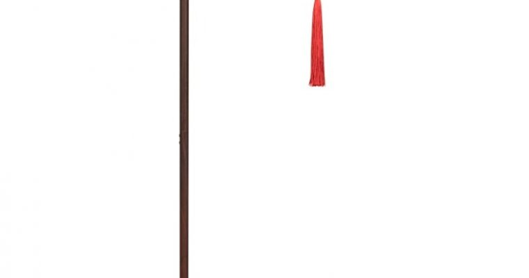 Dutchbone Suoni Vloerlamp – B30xD32xH157 Cm – Rode Lampenkap | 8718548054110