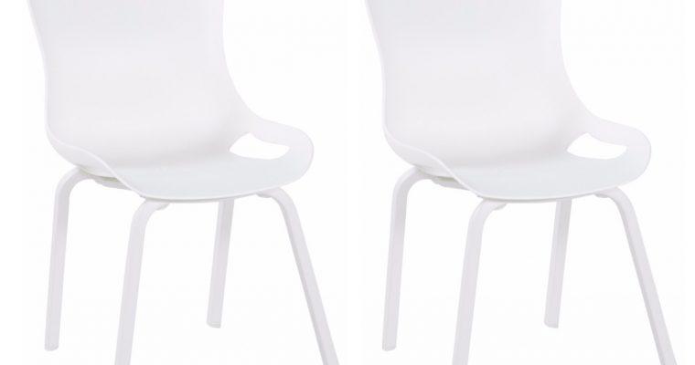 Hartman Sophie Pro Element Tuinstoel Stapelbaar – Set Van 2 – Wit | 8719874341608