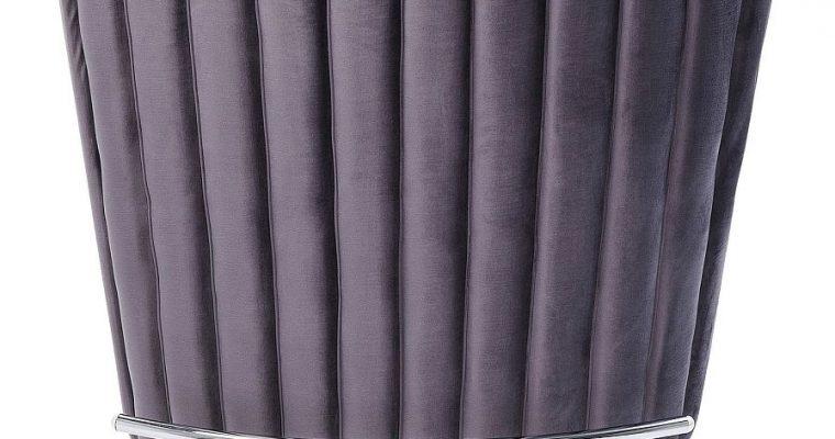 Kare Design Bartafel After Work Velvet – B120 X D44 X H107 Cm – Grijs Fluweel | 4025621839002