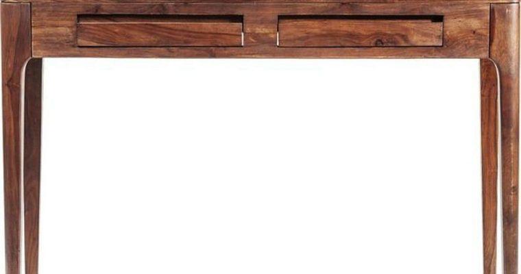 Kare Design Brooklyn Bureau – L110xB40xH76 Cm – 2-Laden – Sheesham Hout – Nature Kleur | 4025621820208