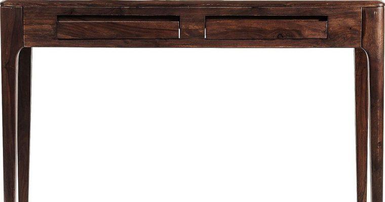 Kare Design Brooklyn Bureau – L110xB40xH76 Cm – Sheesham Hout – Walnoot Kleur | 4025621812609