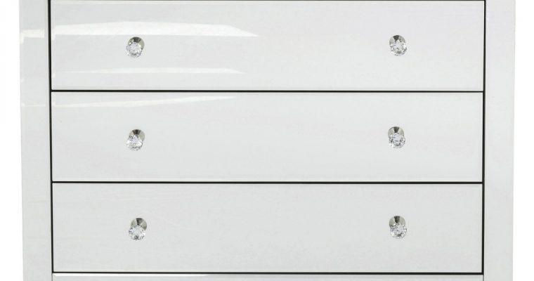 Kare Design Luxury Ladekast 3-Laden – B91xD41xH73,5 Cm – Spiegelglas   4025621822318