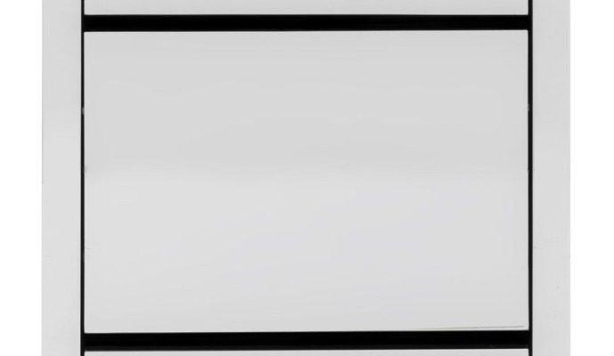 Kare Design Luxury Schoenenkast 3-Vakken – B55xD30xH124 Cm – Spiegelglas   4025621849933