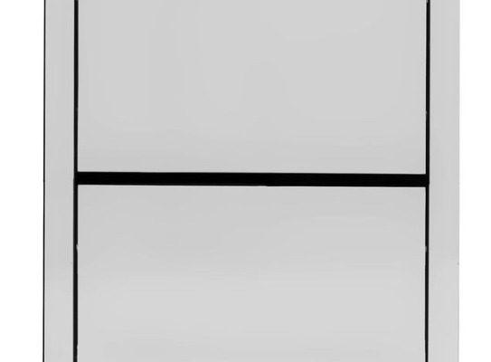 Kare Design Luxury Schoenenkast 4-Vakken – B55xD30xH162 Cm – Spiegelglas   4025621849957