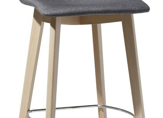 SCAB Design Barkruk Zebra Natural Pop 80 – Antraciet Stof | 8005733281216